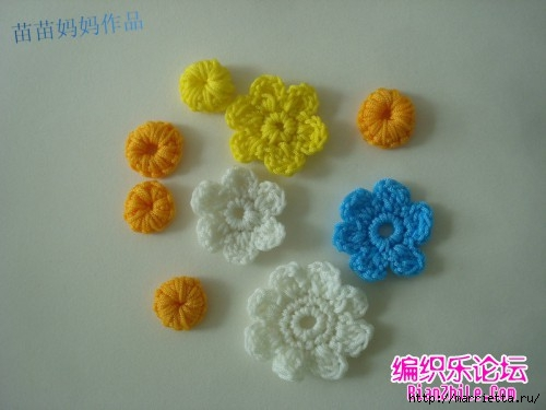 Вязание крючком. Сумочки с цветами. Идеи (2) (500x375, 86Kb)