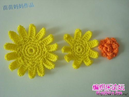 Вязание крючком. Сумочки с цветами. Идеи (4) (500x375, 90Kb)