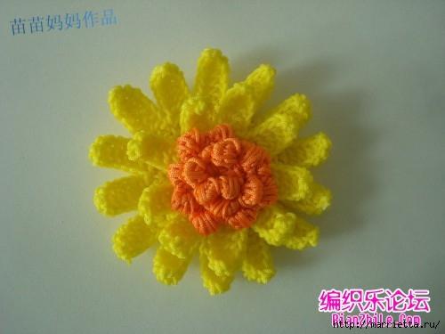Вязание крючком. Сумочки с цветами. Идеи (15) (500x375, 88Kb)