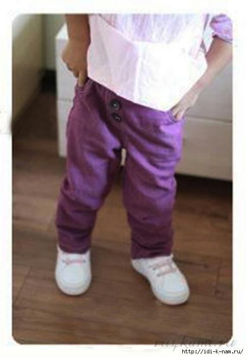 как сшить брючки для малыша, как сшить штанишки для мальчика, выкройка штанишек для мальчика, Хьюго Пьюго шьем детям,