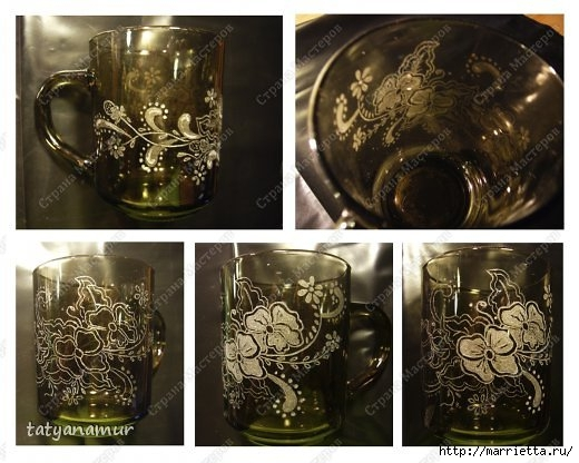Гравировка по стеклу гравером Dremel (5) (520x416, 145Kb)