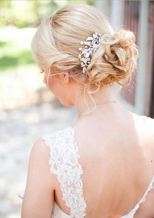 Красивые свадебные прически - много фото1 (493x700, 191Kb)