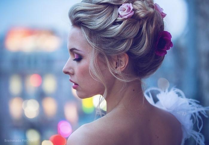 Красивые свадебные прически - много фото12 (700x486, 201Kb)