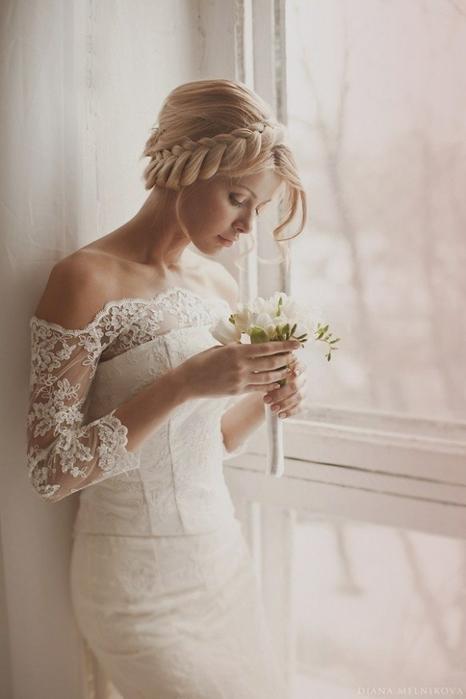 Красивые свадебные прически - много фото24 (466x700, 151Kb)
