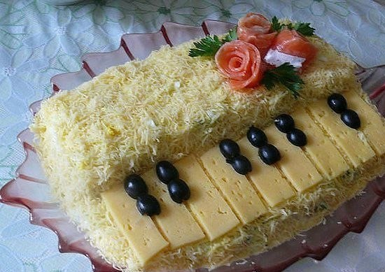 необыкновенные салаты рецепты с фото