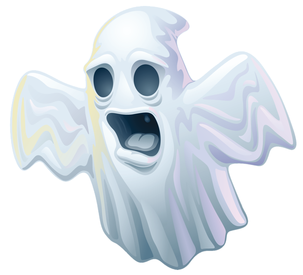 5663931 Creepy Halloween Ghost PNG Clipart (600x545, 171Kb)