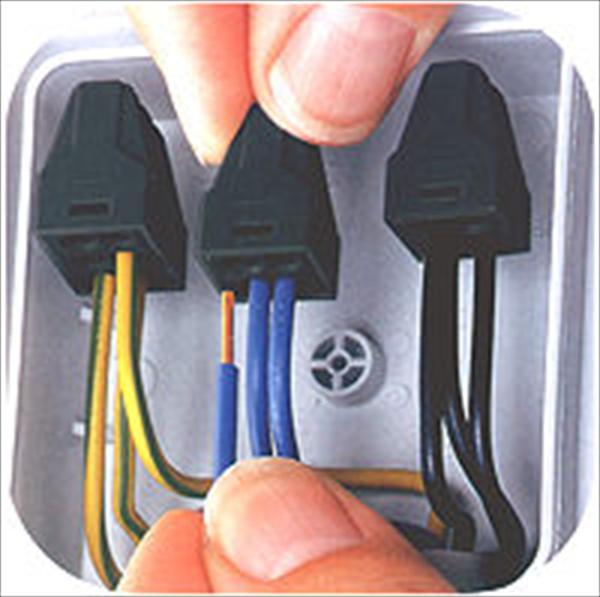 соединения проводов в