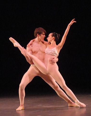 смотреть голые балерины на сцене