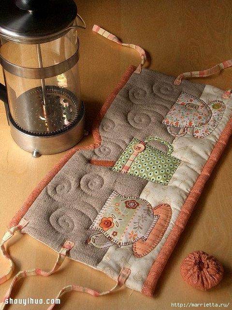 Лоскутное шитье. Красивая грелка для чайника (2) (480x640, 241Kb)