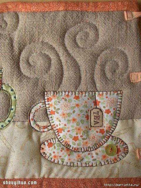 Лоскутное шитье. Красивая грелка для чайника (11) (480x640, 331Kb)