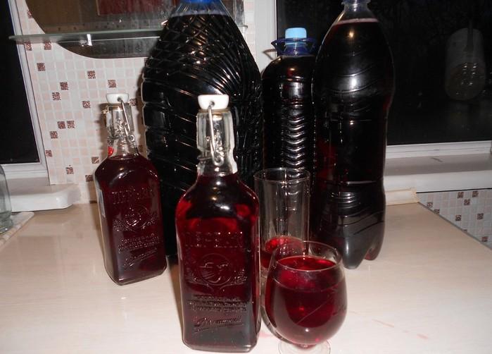 Домашние виноградное вино