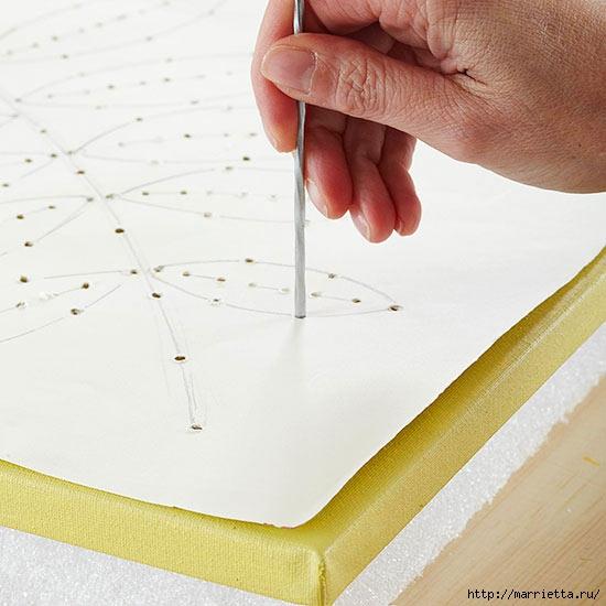Панно с вышивкой на пенопласте (3) (550x550, 135Kb)