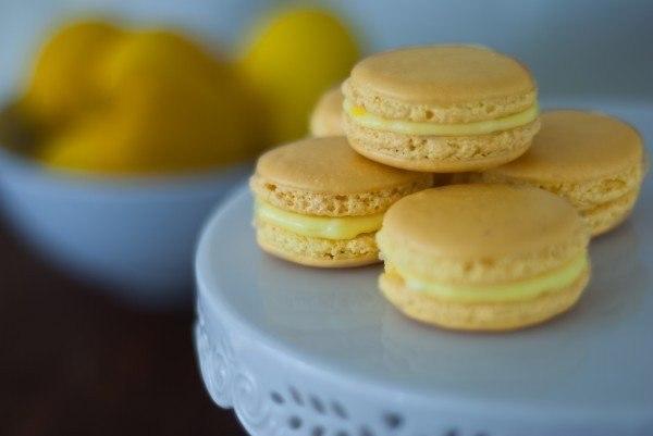 Лимонные макаруны (600x401, 24Kb)