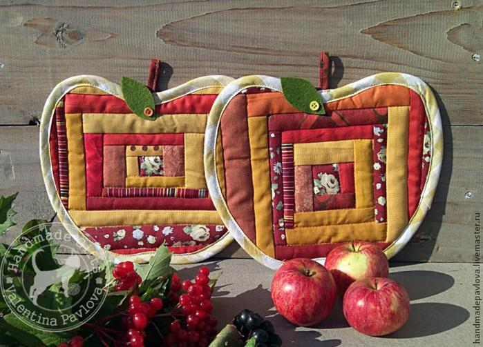 Яблоки из ткани своими руками