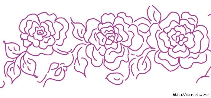 Украшаем кухонные полотенца росписью акриловыми красками (8) (700x324, 173Kb)