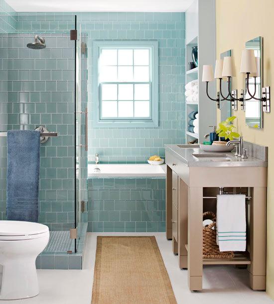 Дизайн маленькой ванной комнаты идеи советы рекомендации: Сборная душевая кабина. Обсуждение на LiveInternet