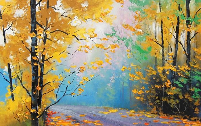 Какая же красивая осень