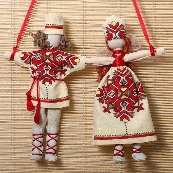Куклы своими руками обереговые