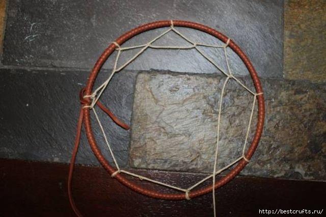 Индейский амулет Ловец снов своими руками (13) (640x425, 130Kb)