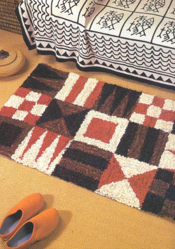 Как сделать коврик техника