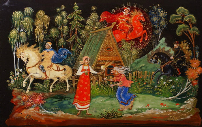 Русские народные сказки картинки в картинках 10