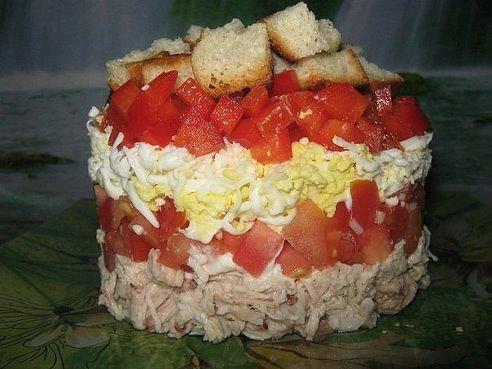 Салат восход рецепт фото