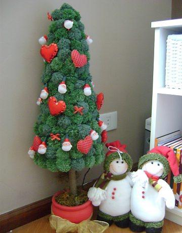 Árboles de navidad y muñecos de nieve de pompones (1) (360x460, 132Kb)