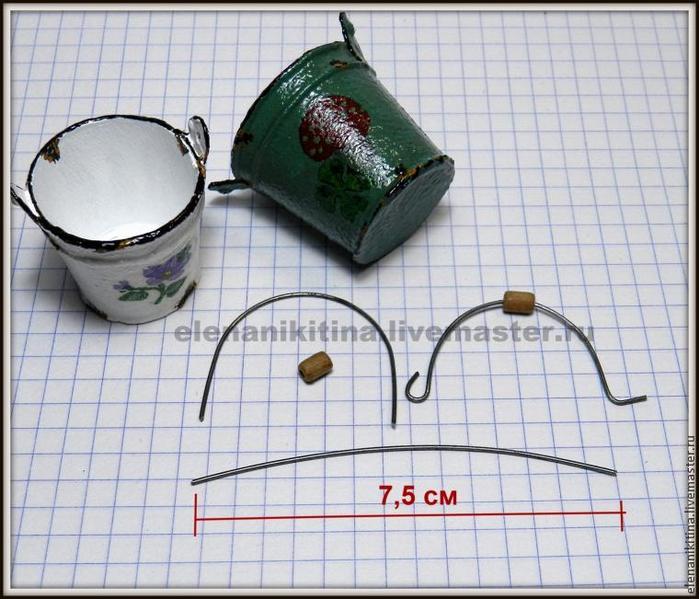 Эмалированное ведерко из картона для миниатюры (13) (700x599, 392Kb)