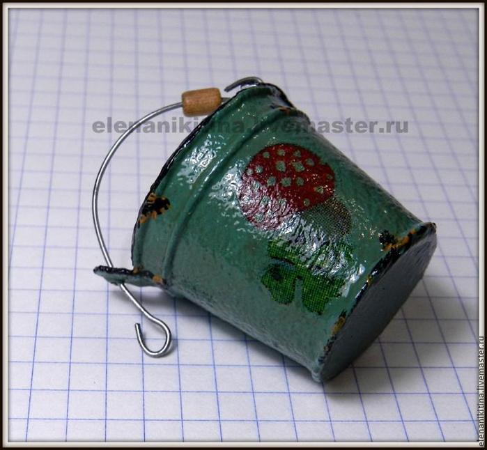 Эмалированное ведерко из картона для миниатюры (15) (700x646, 361Kb)