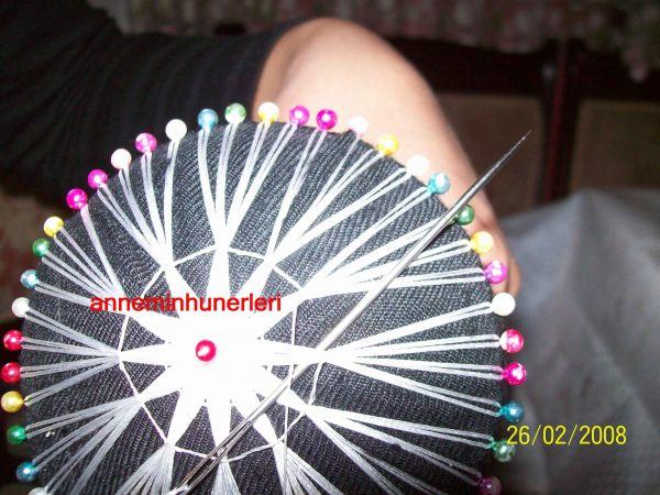 手工缝制教程:太阳花 - maomao - 我随心动