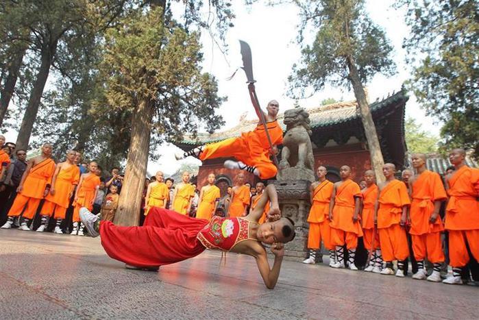 Фестиваль боевых искусств в Шаолине, октябрь 2014 года