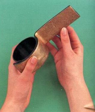 Браслет из пластиковой трубы и полимерной глины (2) (317x376, 89Kb)