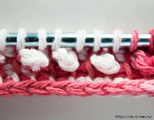 что такое туниское вязания, что такое тунисское, вязания техника тунисского вязания мастер класс, как связать мочалку в технике туниского вязания,