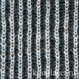Ажурный двусторонний шарф спицами схема фото 241
