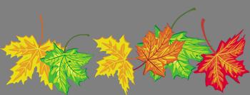 осень лист (350x134, 60Kb)