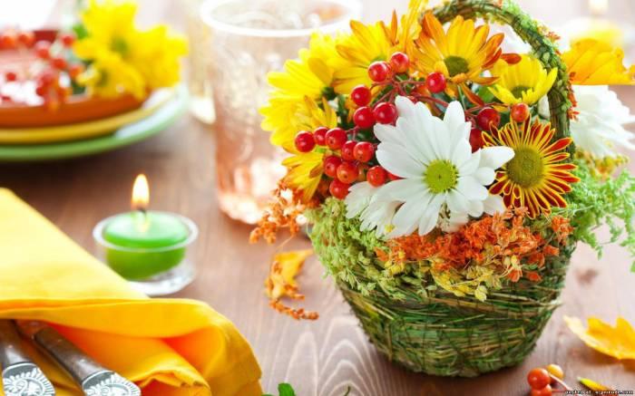 Фото осенних цветов красивых