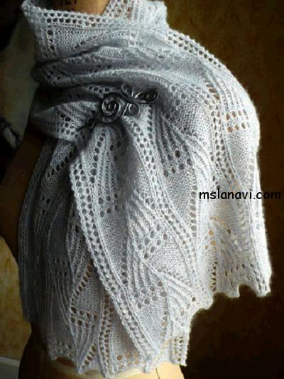 ажурные-шарфы-спицами (400x533