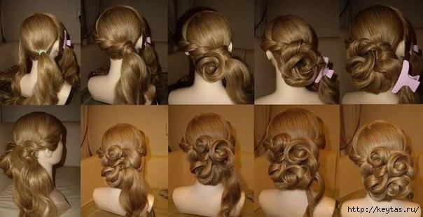 Причёски своими руками фото косы