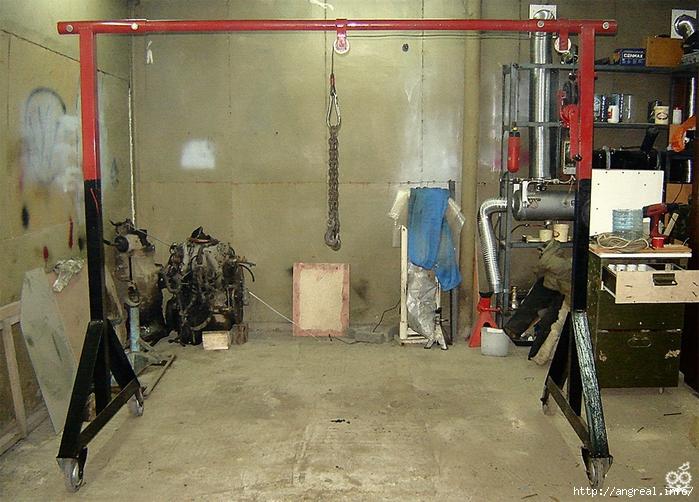 Приспособление своими руками для гаража