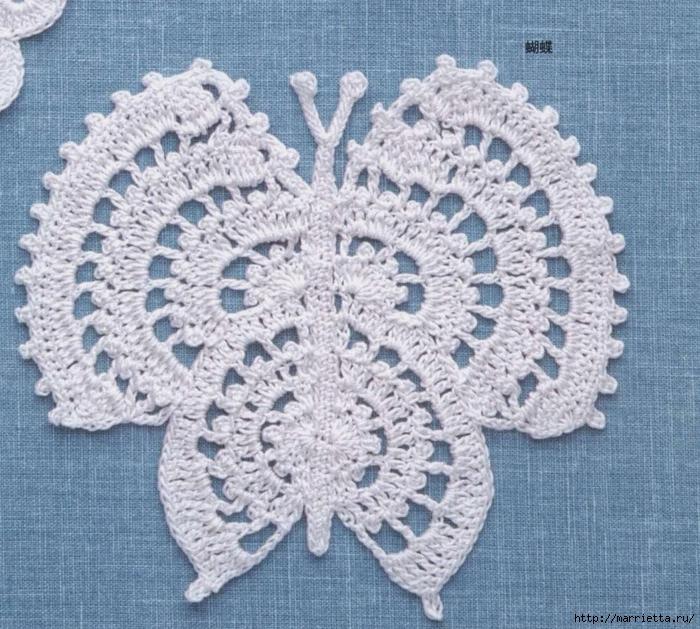 Схема бабочки крючком (1) (700x629, 390Kb)
