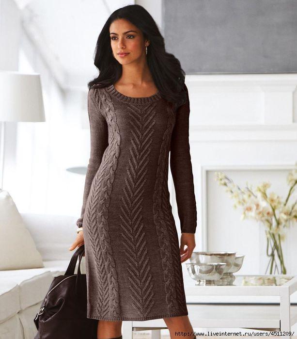 Для вязания платья что лучше