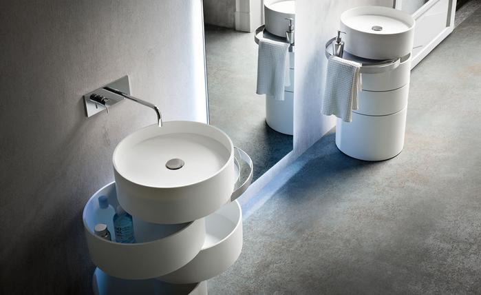 красивый умывальник для ванной комнаты Alessandro Isola 2 (700x428, 215Kb)