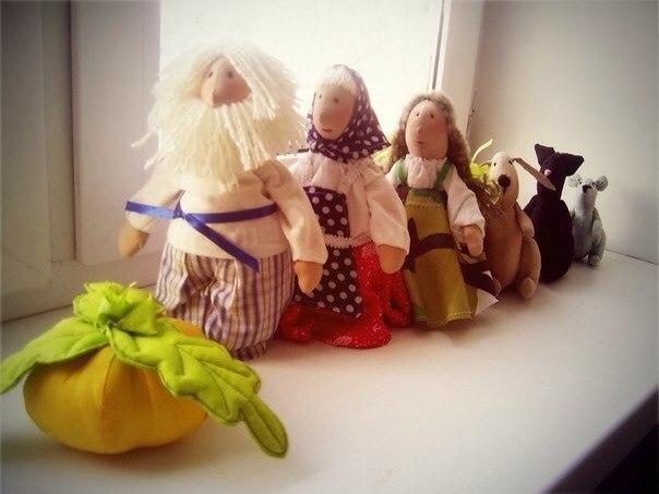 Куклы сказочные герои своими руками