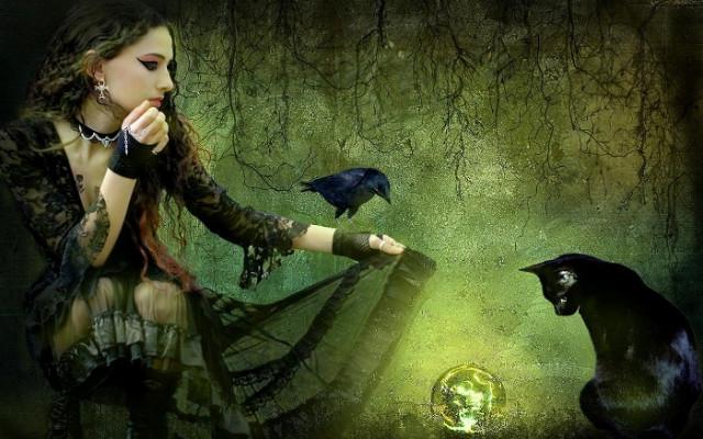 Ведьма и кот 1 (640x400, 99Kb)