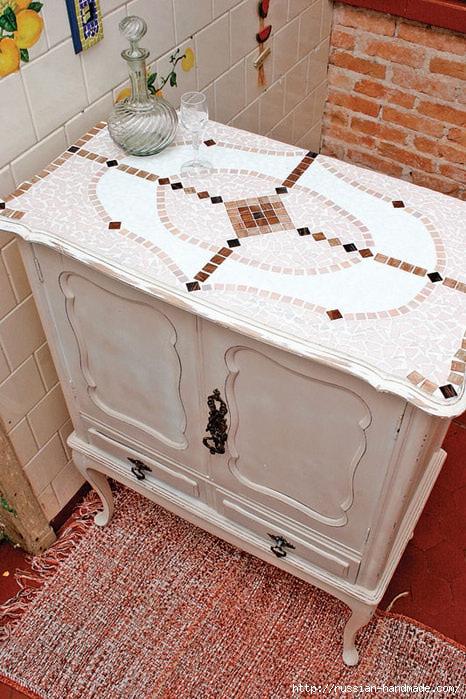Лампа и Кухонный буфет с применением мозаики (14) (466x699, 293Kb)