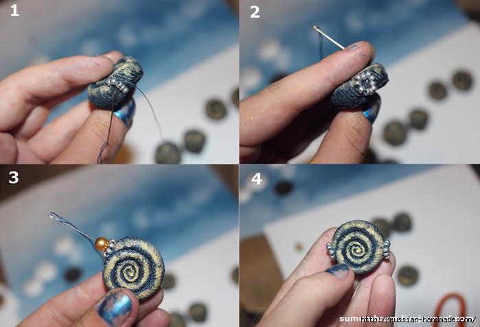 Джинсовое ожерелье из ракушек, бисера и бусин (12) (700x477, 201Kb)