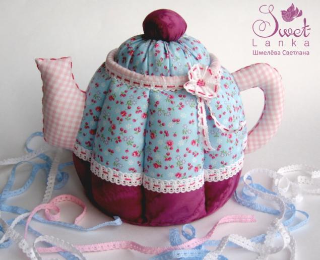 Текстильные чайники своими руками 5114