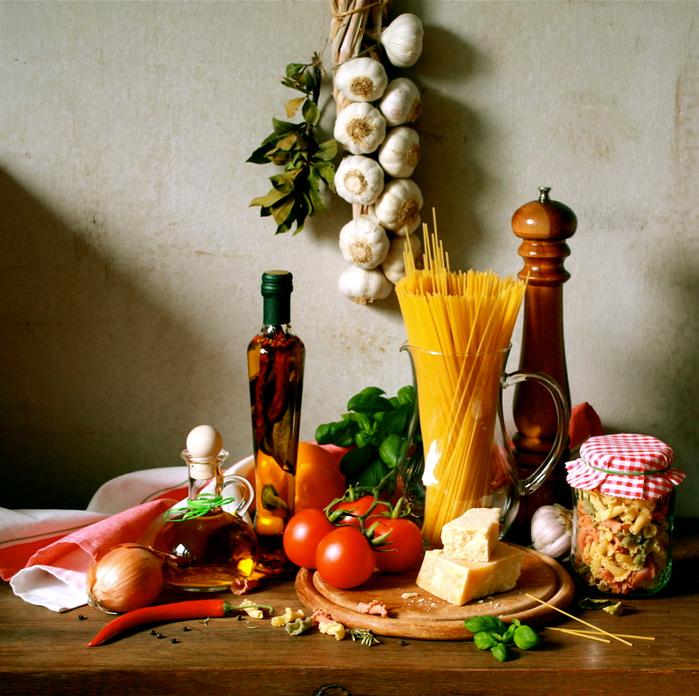 лучшие блюда итальянской кухни 2 (700x696, 625Kb)