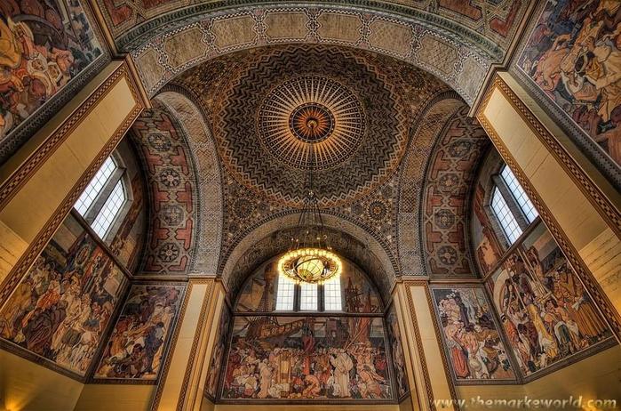 красивый потолок фото 16 (700x462, 459Kb)