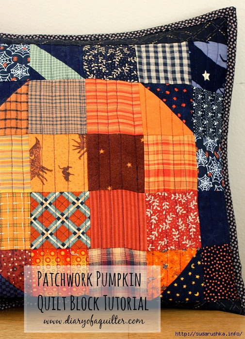 halloween pumpkin patchwork pillow-001 (505x700, 395Kb)